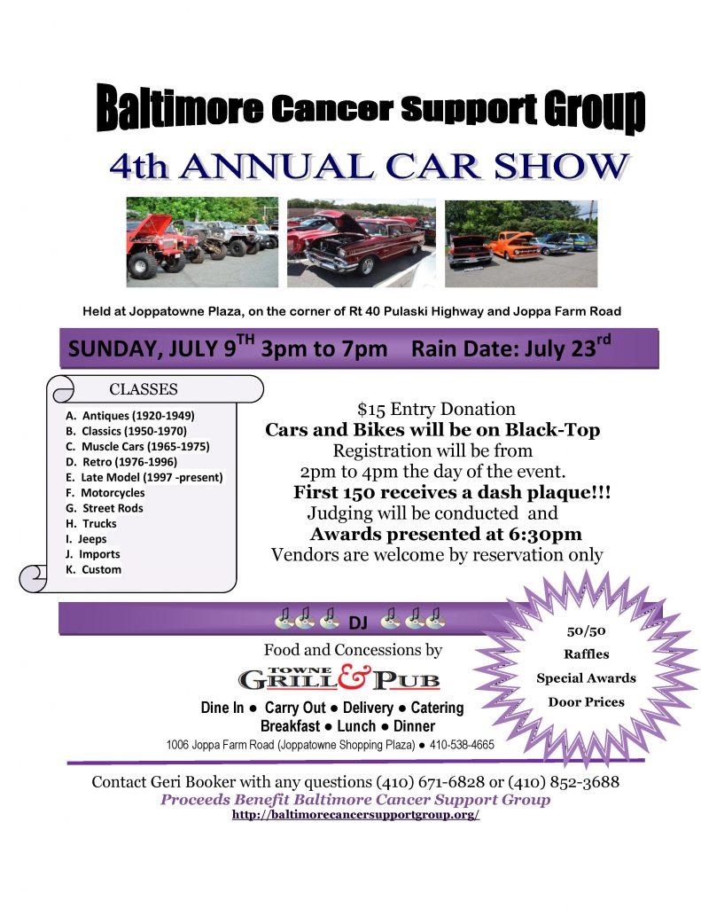 Parkville Car Show
